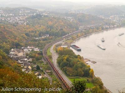 Der Rheinsteig und seine Etappen